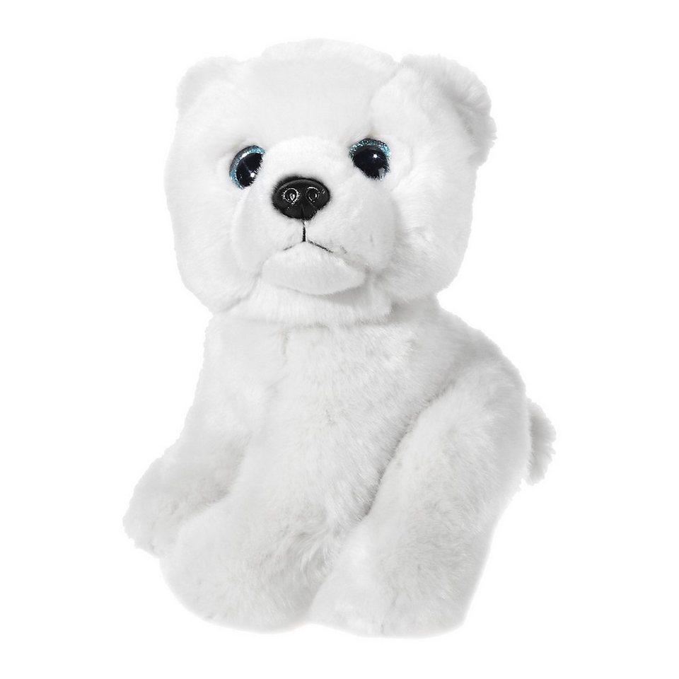 Heunec MI CLASSICO Eisbär mit Glitzeraugen, 21 cm