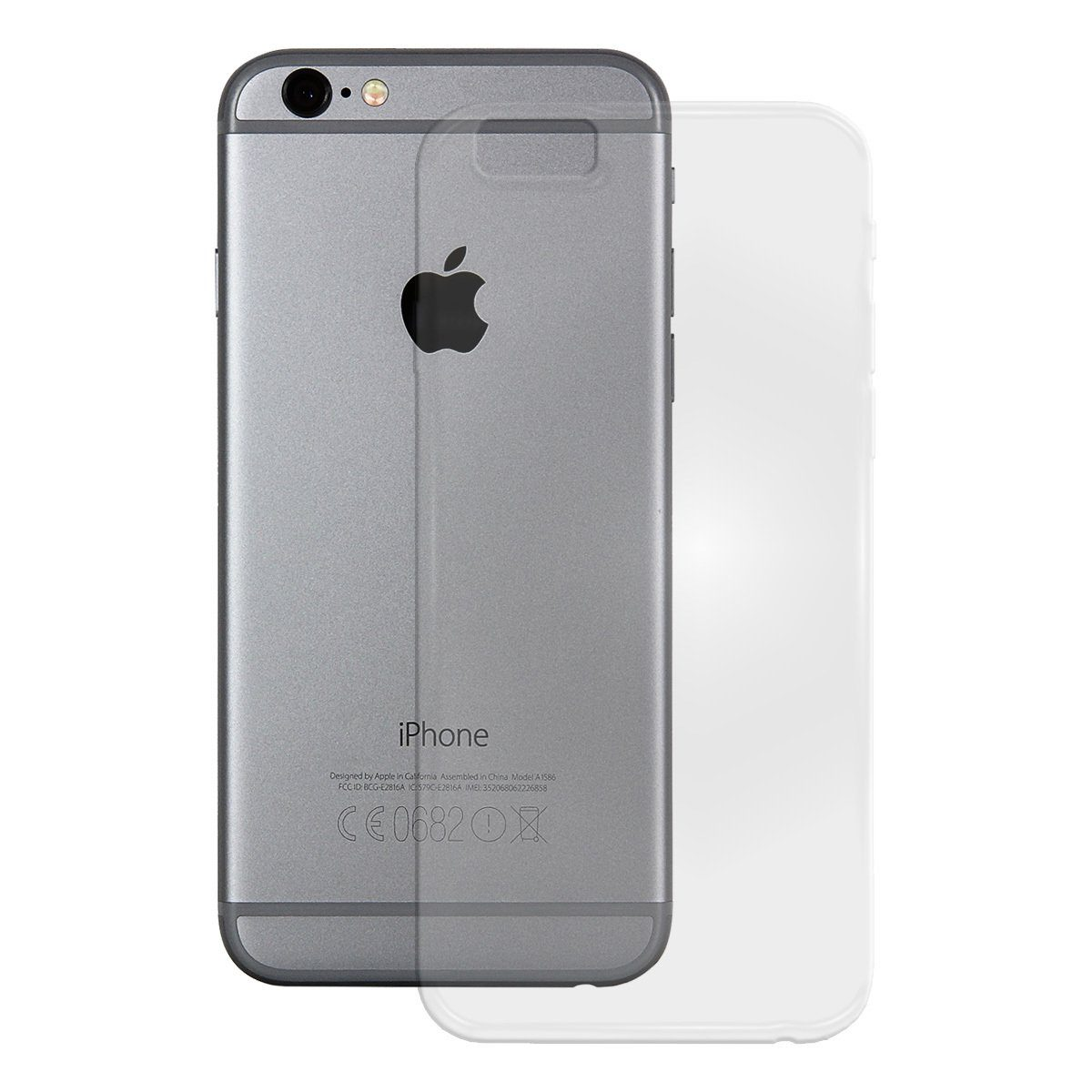 PEDEA Handytasche »Soft TPU Case (glatt) für Apple iPhone 5e«