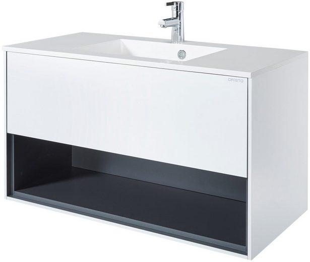 oristo waschplatz bolognie 100 cm breit 2 tlg otto. Black Bedroom Furniture Sets. Home Design Ideas