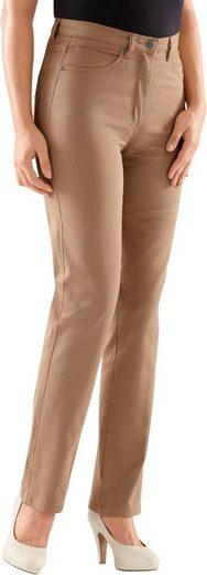 Collection L. Jeans mit festem Bund und Gürtelschlaufen