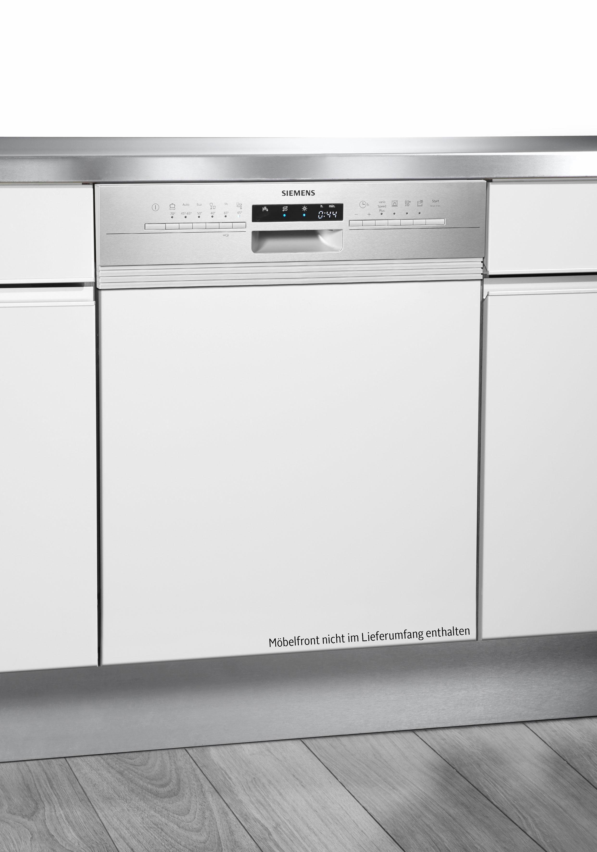 SIEMENS teilintegrierbarer Geschirrspüler 111 Jahre Siemens iQ300, iQ300 SN536S00EE, 9,5 l, 13 Maßgedecke