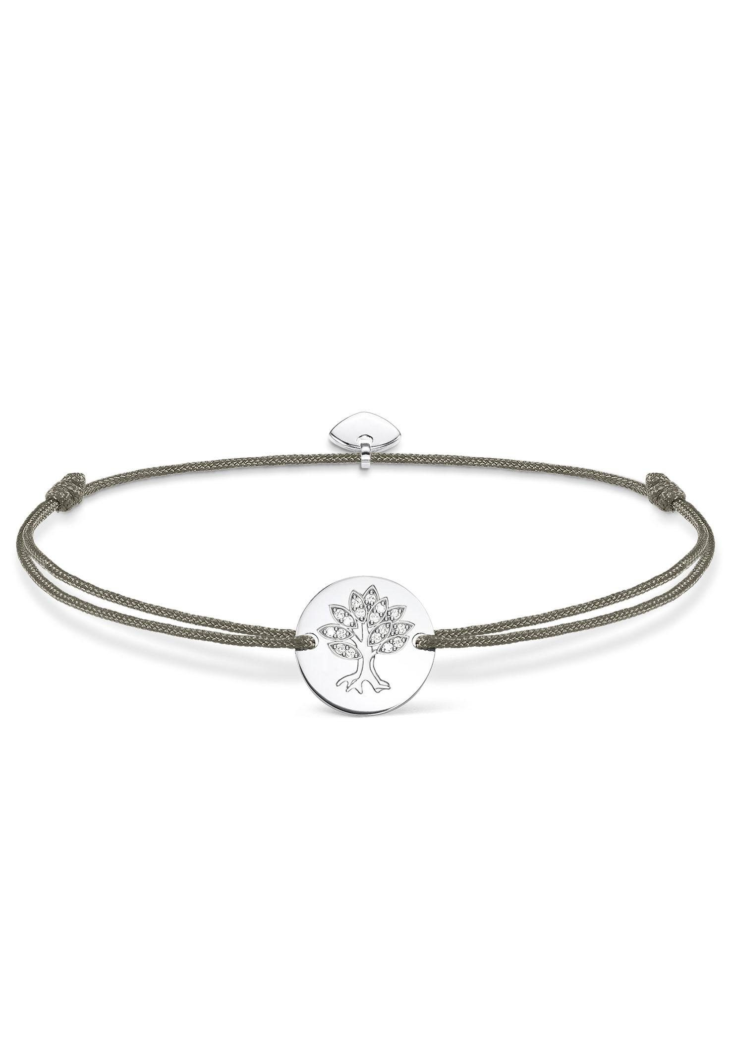 THOMAS SABO Armband »Lebensbaum, Little Secret, LS008-401-5-L20v« mit Zirkonia