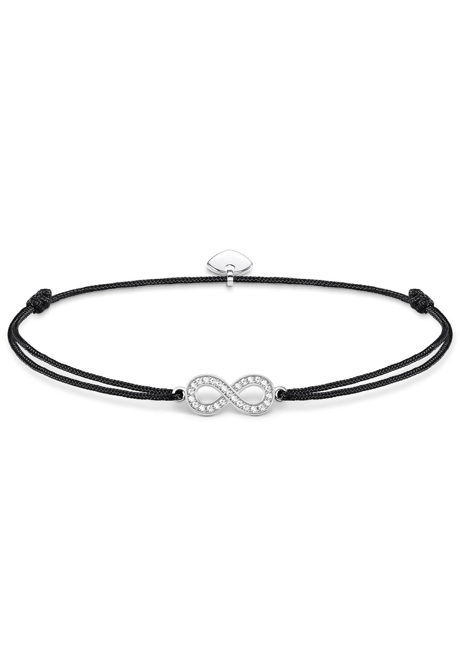 THOMAS SABO Armband »Infinity, Little Secret, LS003-401-11-L20v« mit Zirkonia