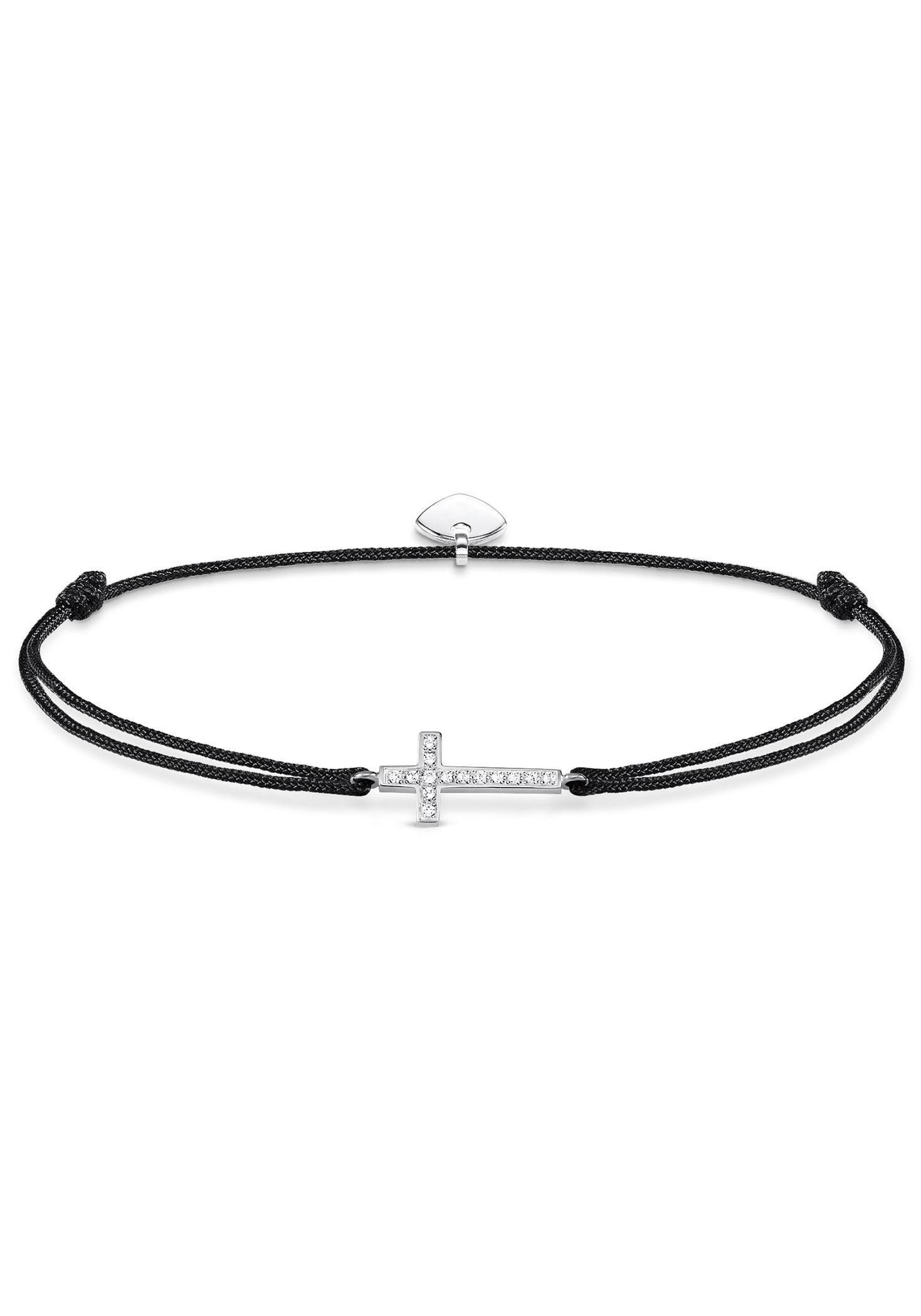 THOMAS SABO Armband »Kreuz, Little Secret, LS013-401-11-L20v«, mit Zirkonia