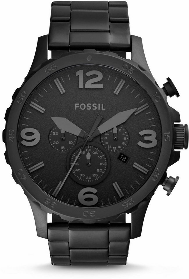 fossil chronograph nate jr1401 online kaufen otto. Black Bedroom Furniture Sets. Home Design Ideas