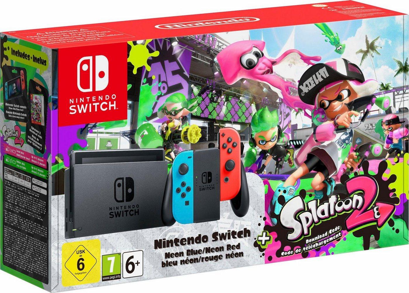 Nintendo Switch-Konsole + Splatoon 2 (DLC) - Preisvergleich