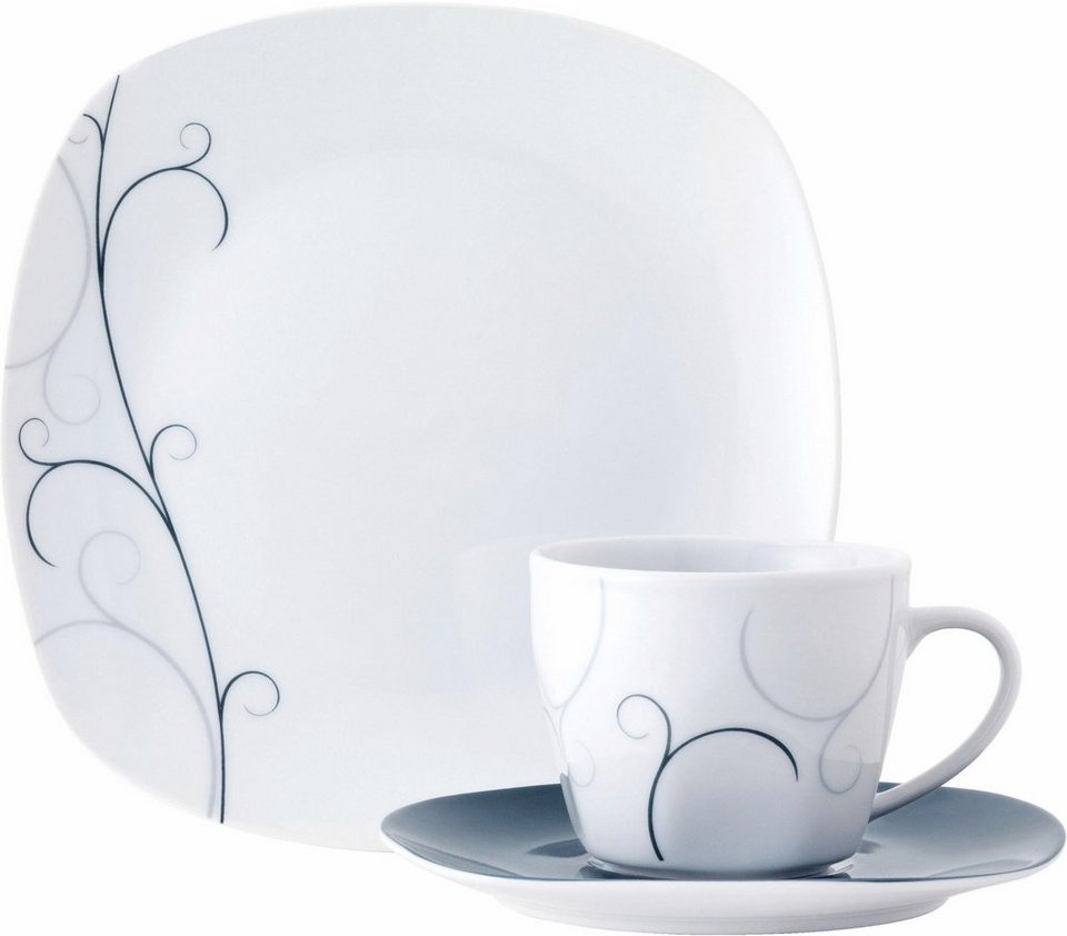 van well kaffeeservice vita 18 tlg porzellan sp lmaschinengeeignet online kaufen otto. Black Bedroom Furniture Sets. Home Design Ideas