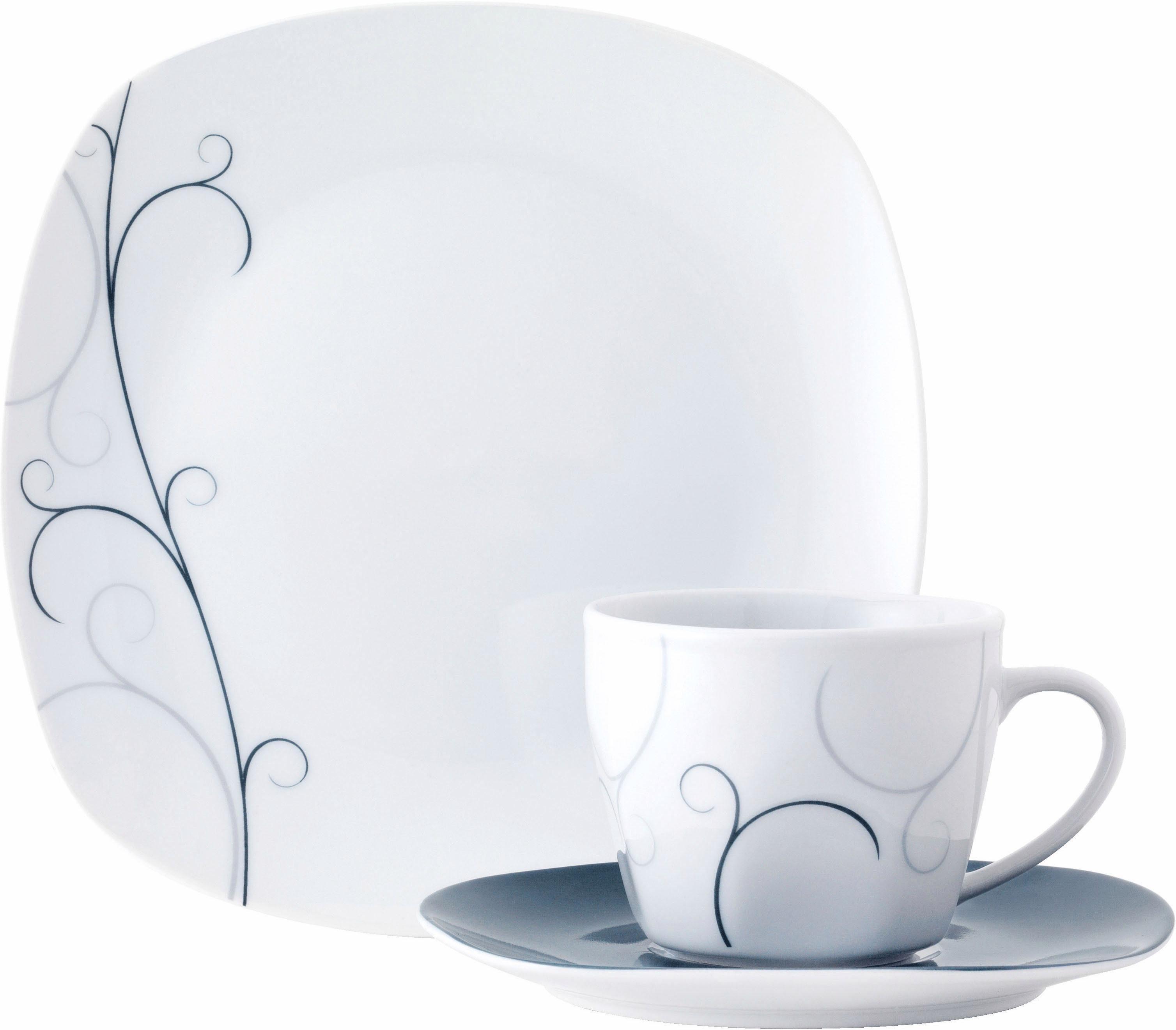 Van Well Kaffeeservice, Porzellan, 18 Teile, »VITA«