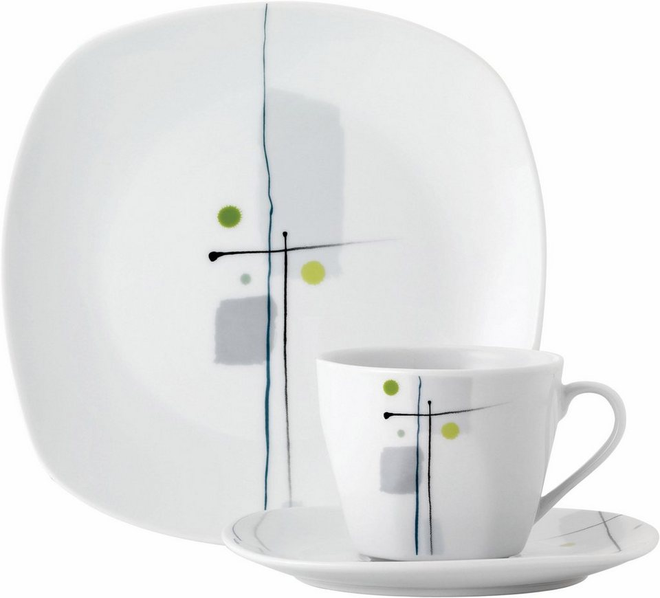kaffeeservice porzellan 18 teile lido kaufen otto. Black Bedroom Furniture Sets. Home Design Ideas