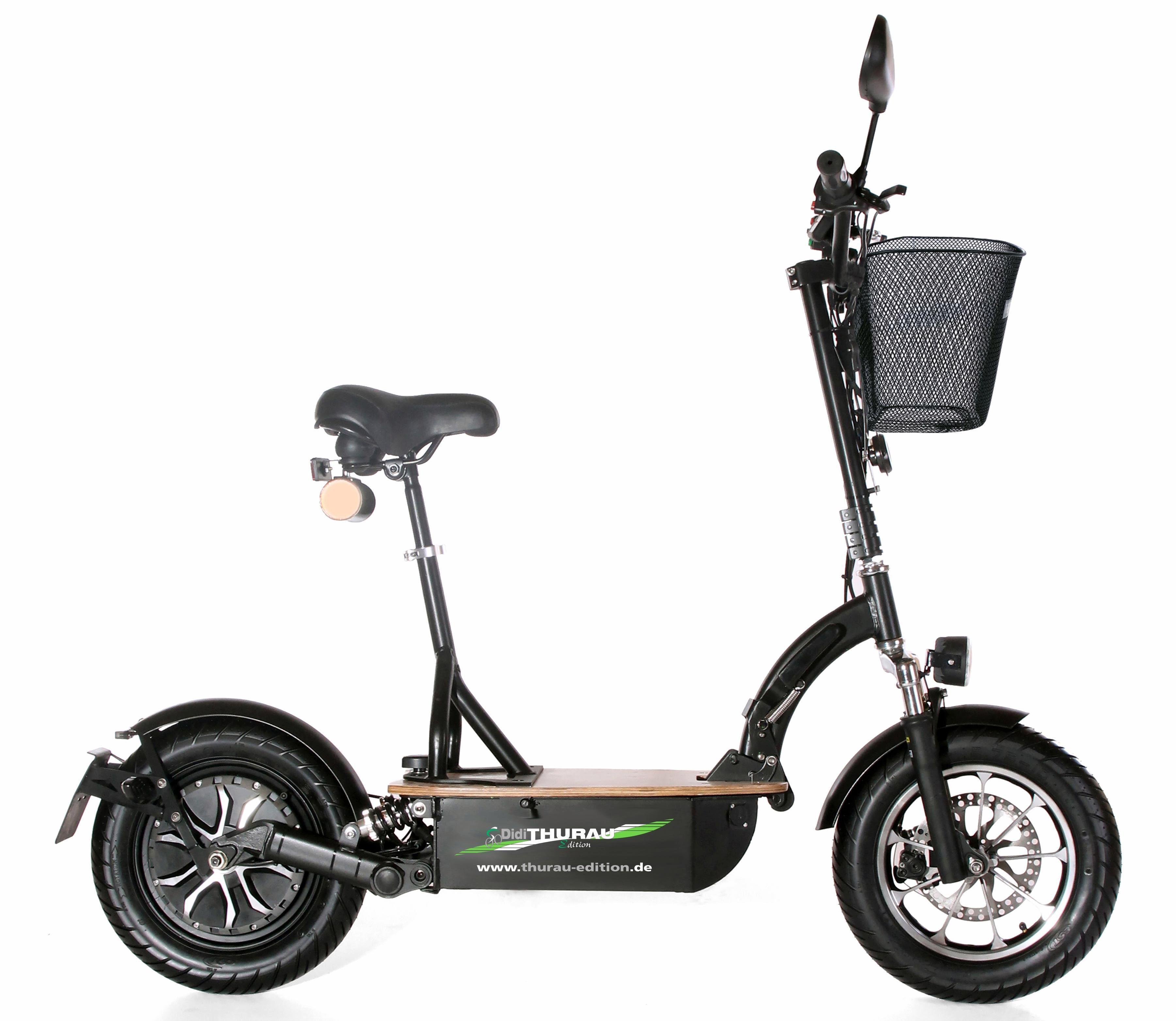 Didi Thurau Edition Elektro-Roller Eco-Tourer Speed, 45 km/h, »Basic«