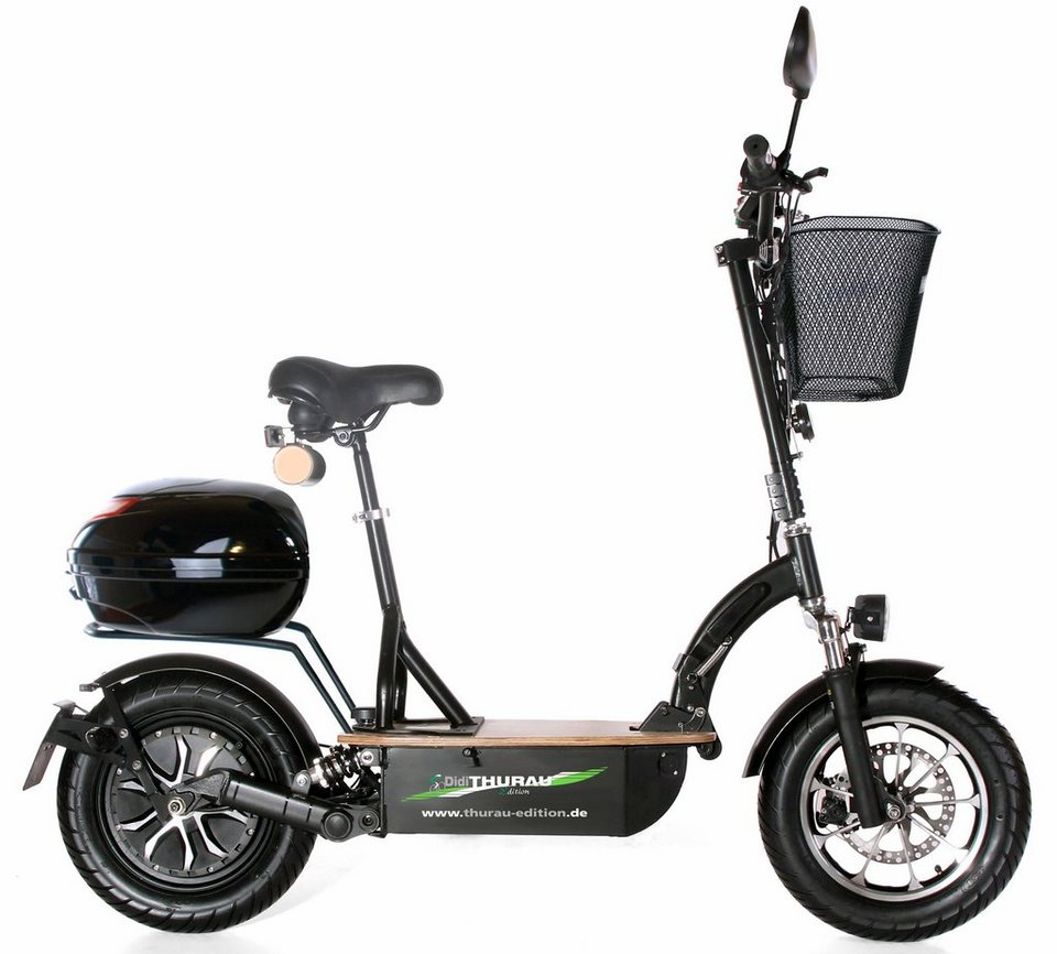 didi thurau edition elektro roller eco tourer speed 45 km. Black Bedroom Furniture Sets. Home Design Ideas