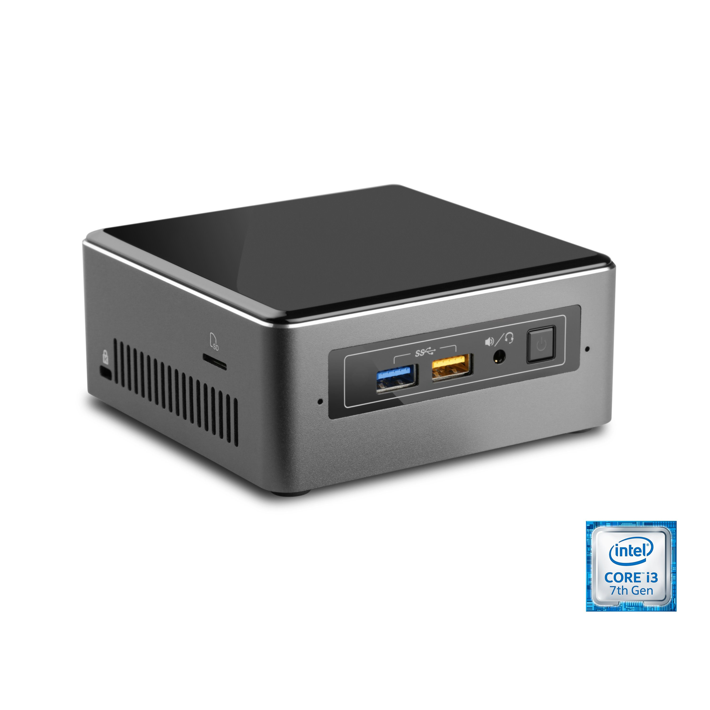 CSL Mini PC | Core i3-7100U | Intel HD 620 | 8GB RAM | 250GB SSD »Intel NUC i3-7100U-2 Windows 10«