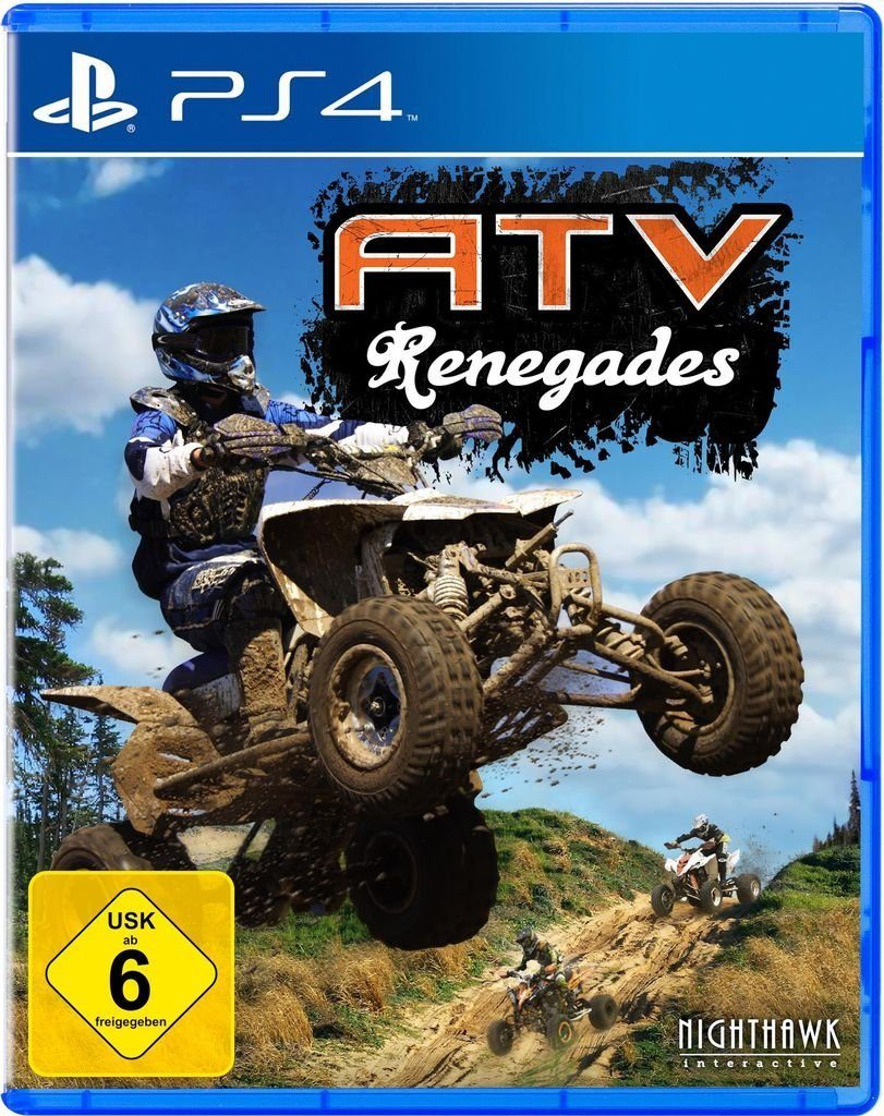 U&I Playstation 4 - Spiel »ATV Renegades«