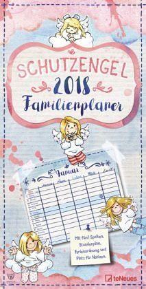 Kalender »Schutzengel Familienplaner 2018«