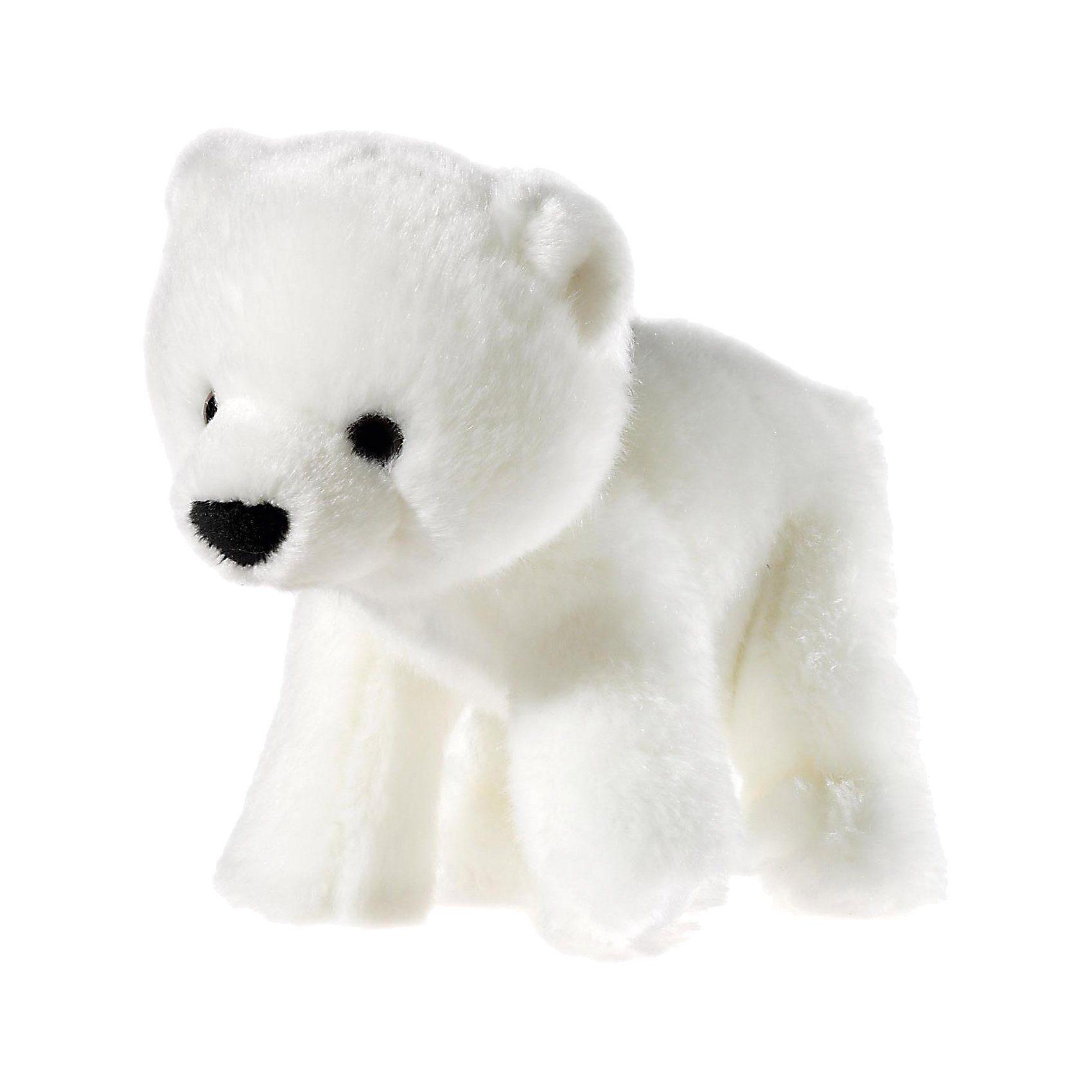 Heunec MI CLASSICO Baby Eisbär sitzend, 20 cm