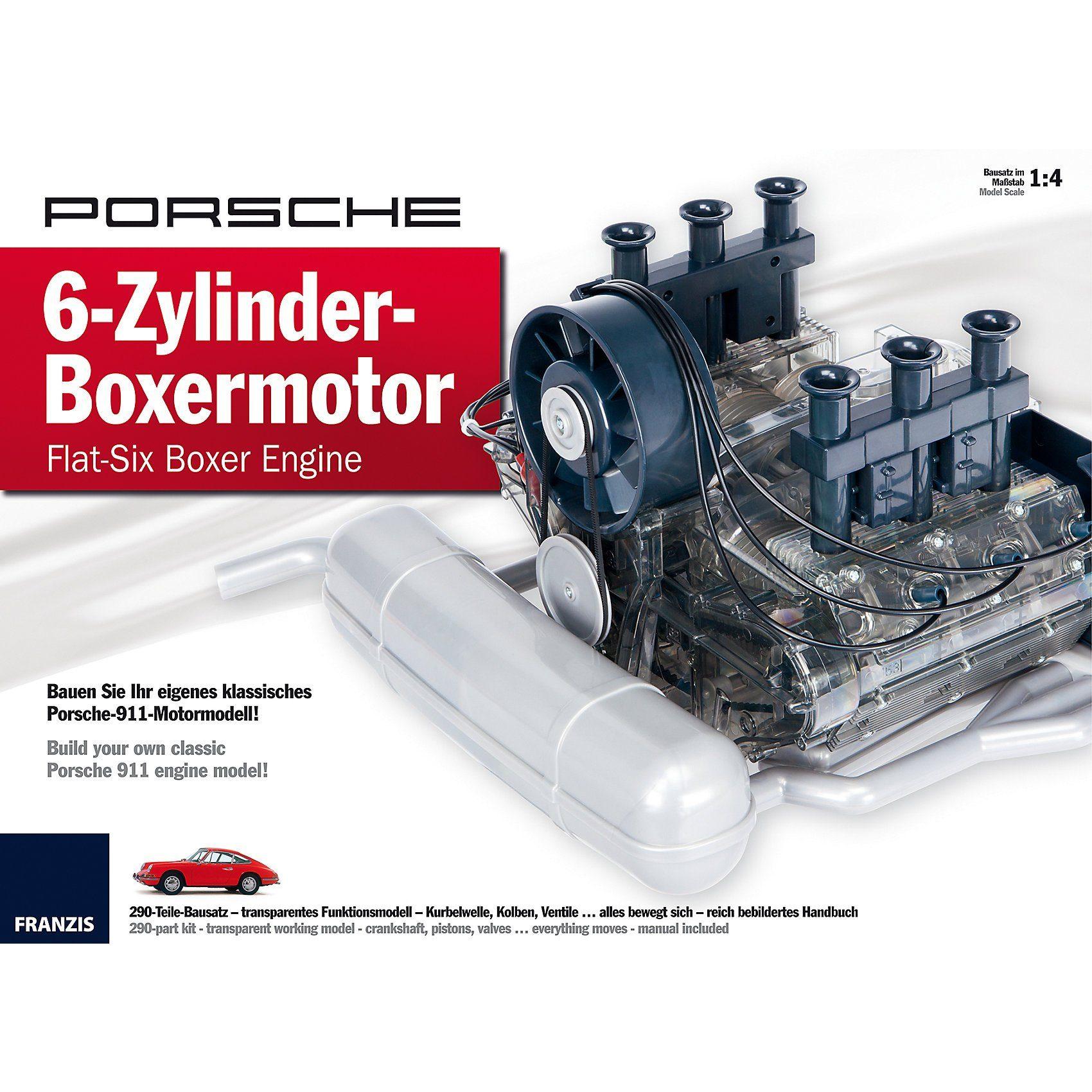 Franzis - Porsche 6-Zylinder-Boxermotor