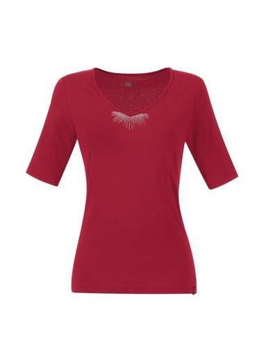 TRIGEMA V-Shirt aus Viskose