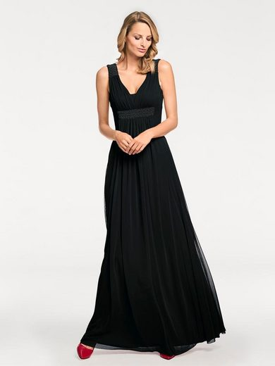 Ashley Brooke By Heine Evening Dress Ornamental Beads