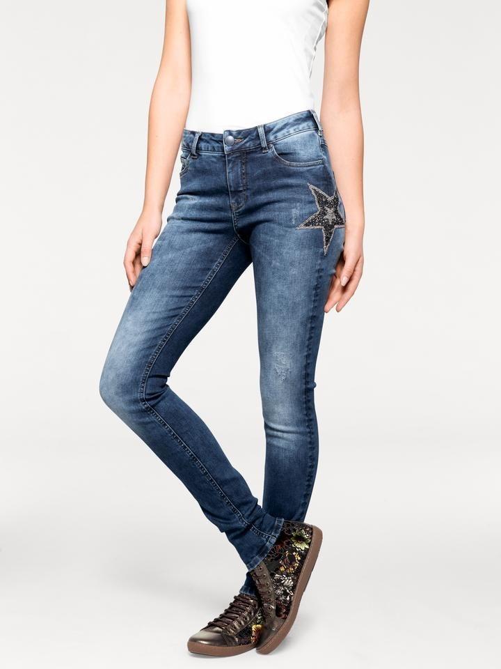 fffcc58e0d4709 heine CASUAL Jeans im Used-Look, Mit Stretchanteil online kaufen | OTTO
