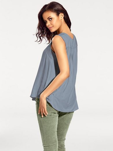 B.C. BEST CONNECTIONS by Heine Shirtbluse mit Materialmix