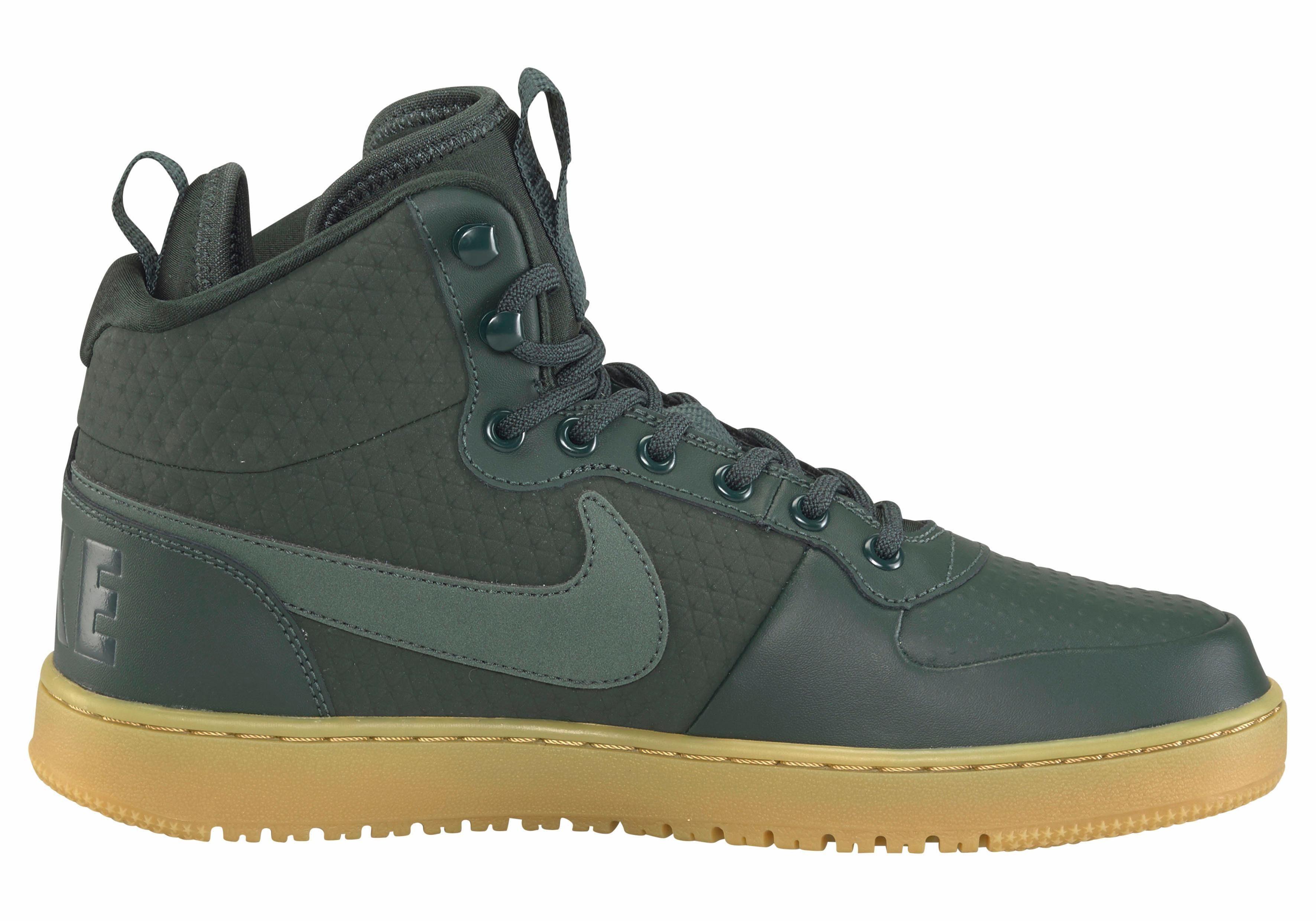 Nike Sportswear Court Borough Mid dunkelgrün Winter Sneaker  dunkelgrün Mid 659808