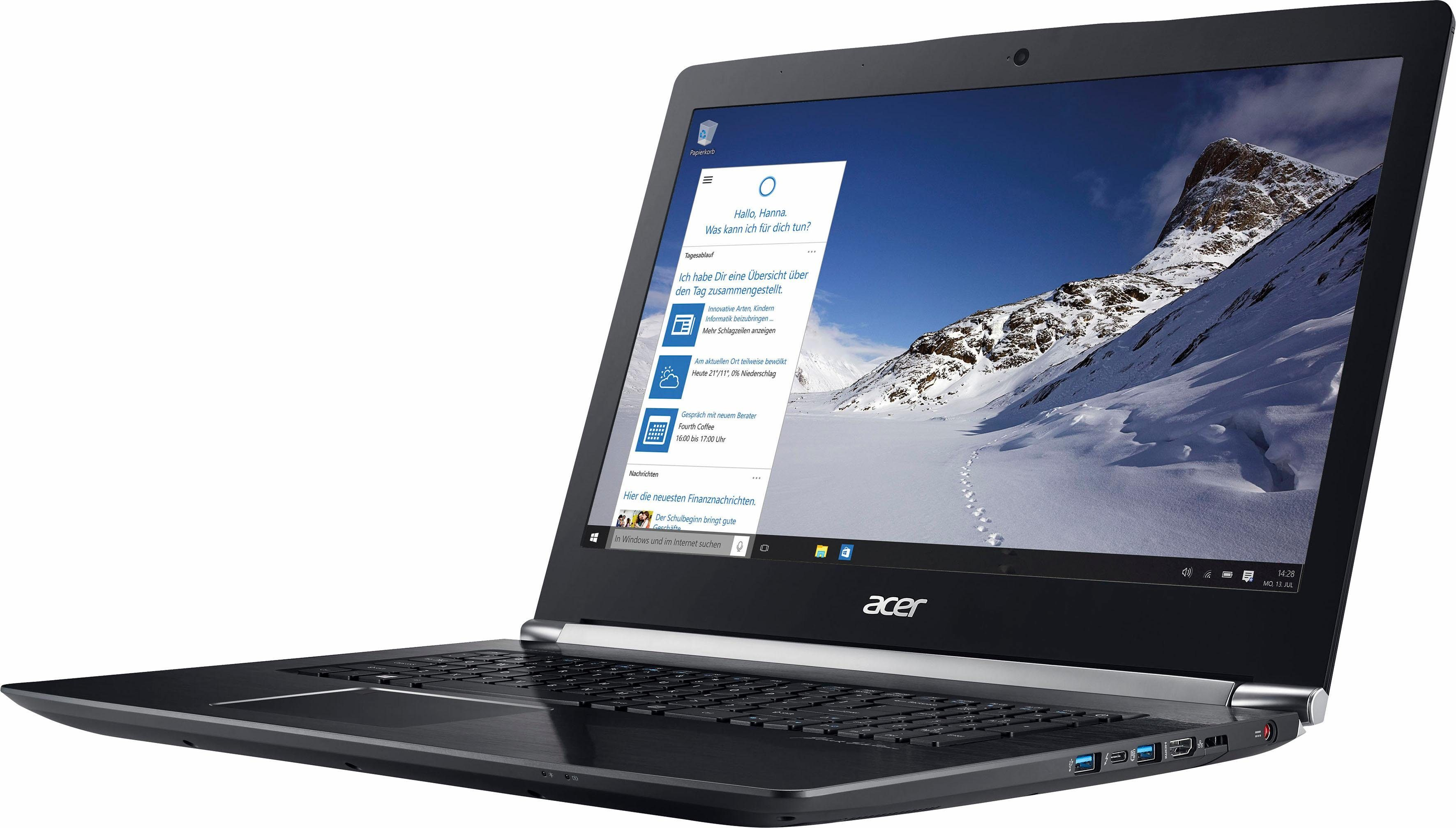 Acer Aspire VN7-793G-741P Notebook, Intel® Core™ i7, 43,9 cm (17,3 Zoll), 512 GB Speicher