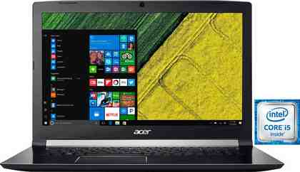 Acer Aspire A717-71G-57F5 Notebook, Intel® Core™ i5, 43,9 cm (17,3 Zoll), 1000 GB Speicher