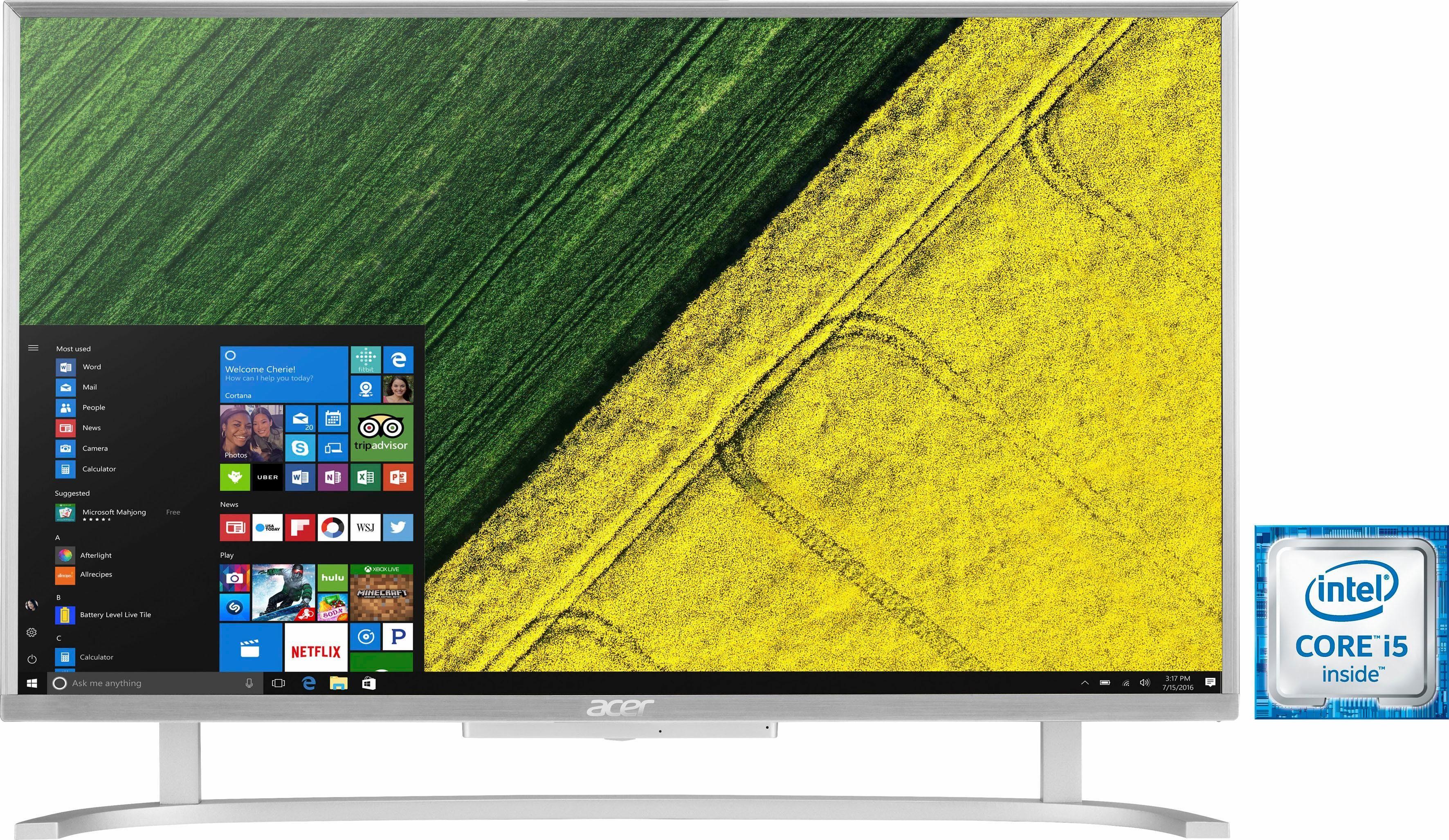 Acer Aspire C24-760 60,5 cm (23,8 Zoll) PC, Intel® Core™ i5, 8192 MB DDR4, 1000 GB Speicher