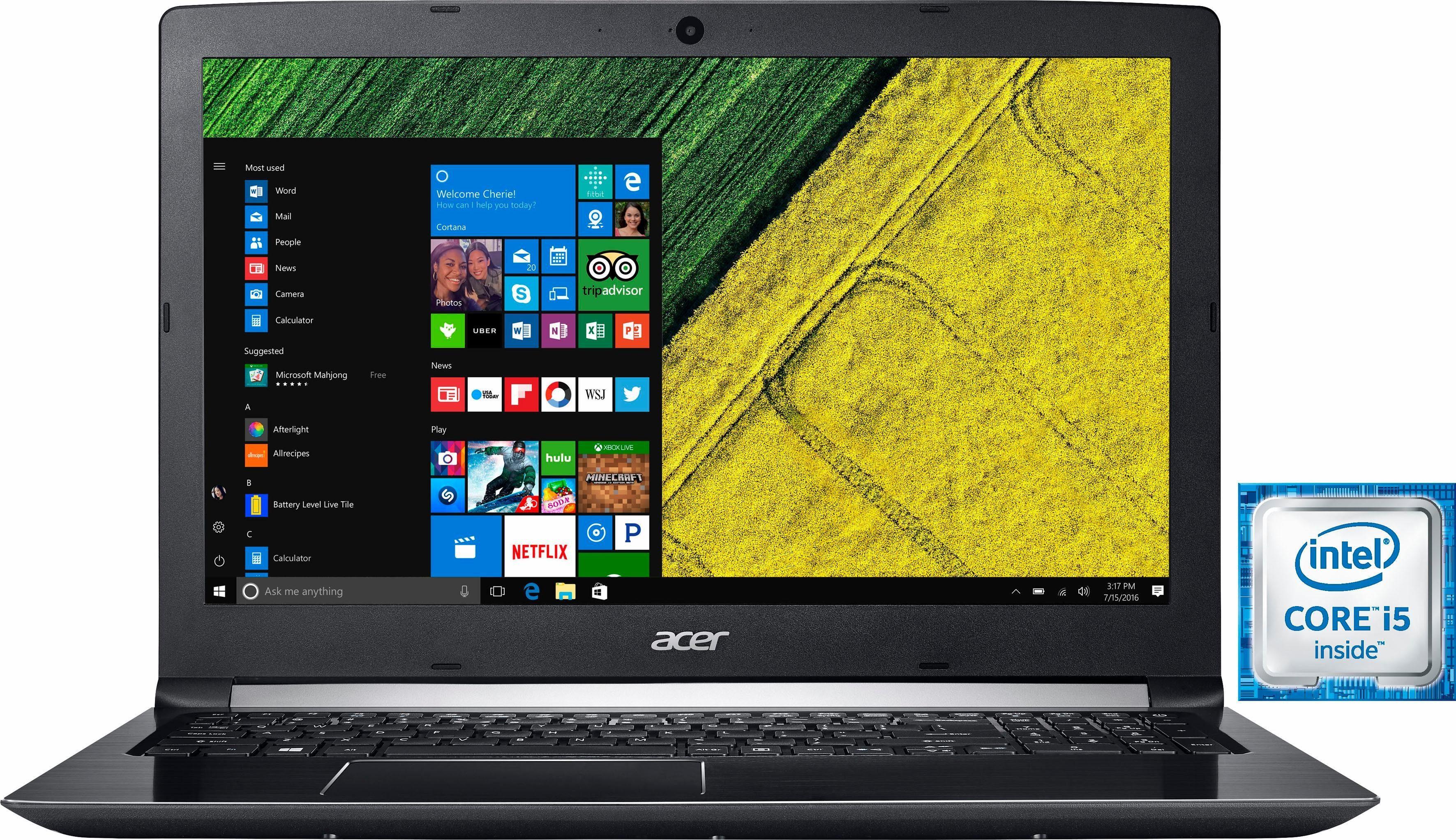 Acer Aspire A515-51-58W1 Notebook, Intel® Core™ i5, 39,6 cm (15,6 Zoll), 256 GB Speicher