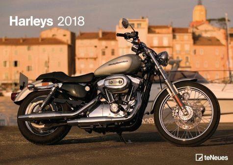 Kalender »Harleys 2018«
