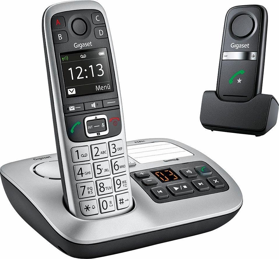 gigaset e560a plus das komfortpaket telefon und freisprech. Black Bedroom Furniture Sets. Home Design Ideas