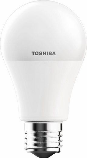 Toshiba »Birnenform« LED-Leuchtmittel, E27, 4 Stück, Warmweiß