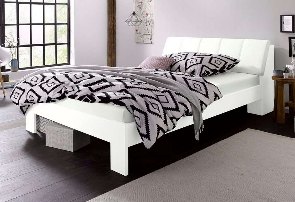 futonbett mit bettkasten im kopfteil online kaufen otto. Black Bedroom Furniture Sets. Home Design Ideas