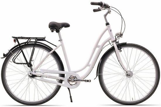 HAWK Bikes Cityrad »City Classic Joy«, 7 Gang Shimano, Nabenschaltung