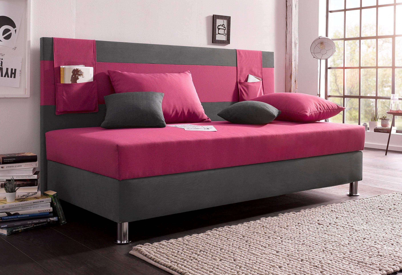 dunkelgrau schlafsofas polsterliegen online kaufen m bel suchmaschine. Black Bedroom Furniture Sets. Home Design Ideas
