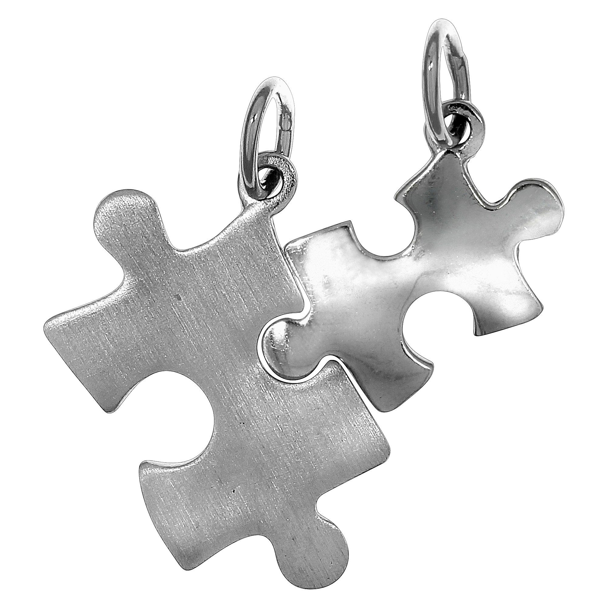 Firetti Anhänger »925/- Sterling Silber rhod. 2tlg. Puzzle«