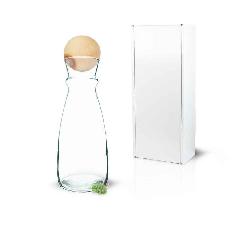 Zirbelino Glas »Wasserkaraffe«, Glas, Hochwertiges Kristallglas