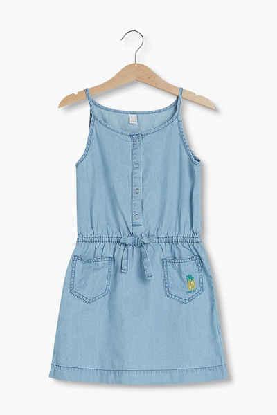ESPRIT Leichtes Jeans-Kleid aus 100% Baumwolle Sale Angebote Schwarzheide