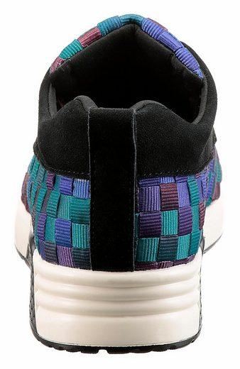 BERNIE MEV Sneaker, in Flecht-Optik