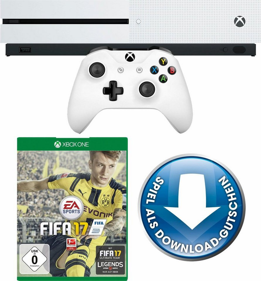 xbox one s 500gb fifa 17 dlc 4k ultra hd otto. Black Bedroom Furniture Sets. Home Design Ideas
