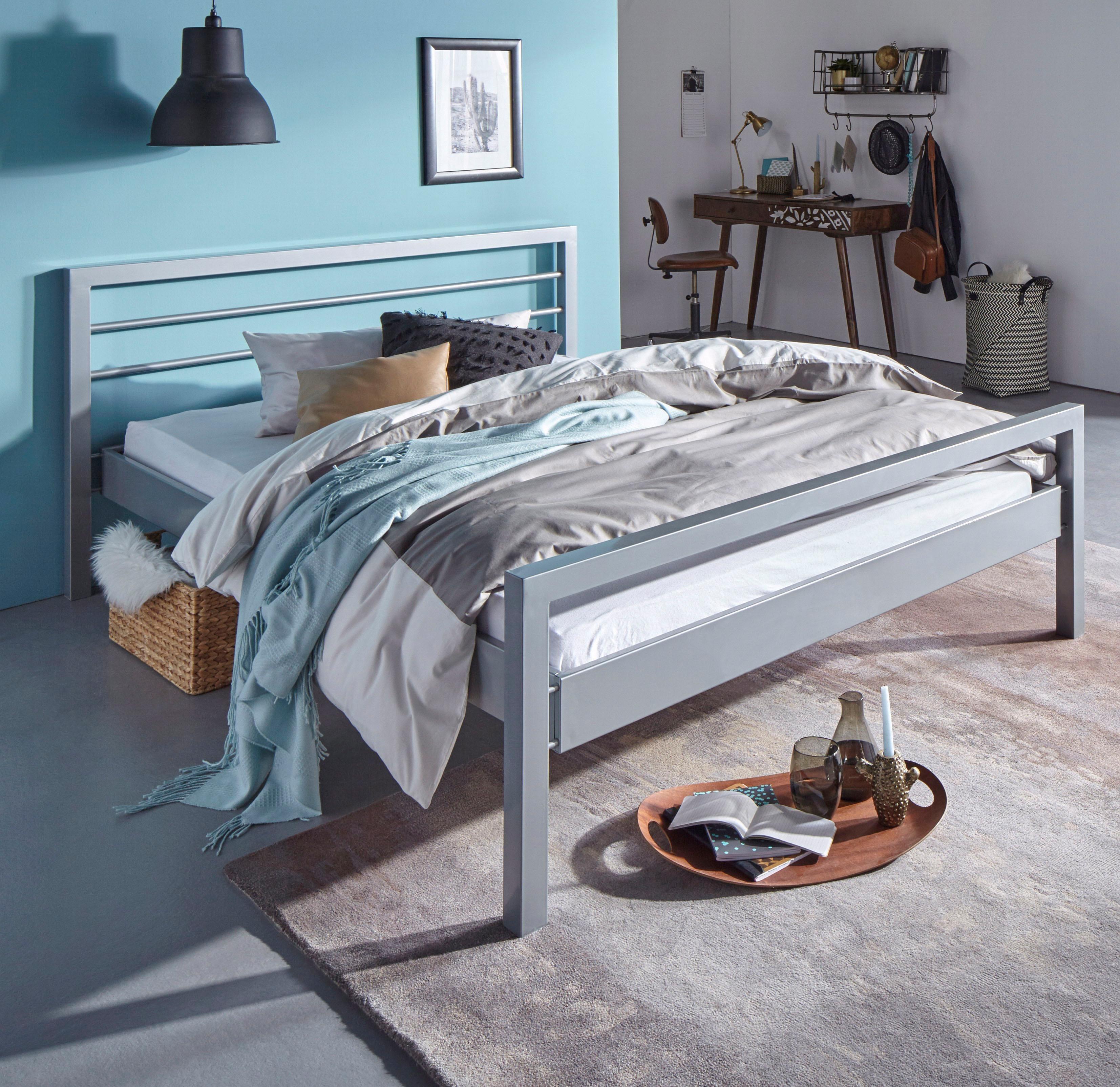 Atlantic Home Collection Metallbett | Schlafzimmer > Betten > Metallbetten | ATLANTIC home collection