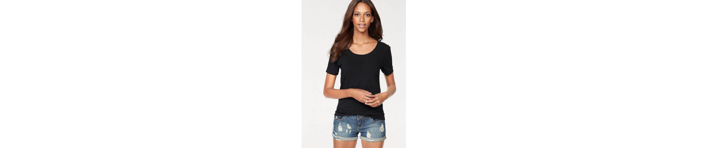 Vivance T-Shirts (2 Stück) aus Baumwoll-Stretch Rabatt Sehr Billig Neueste Preiswerte Online lrOZDi