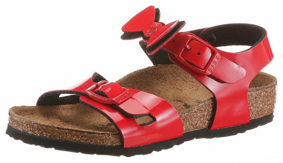 birkenstock rio kids lack sandale mit s er schleife online kaufen otto. Black Bedroom Furniture Sets. Home Design Ideas