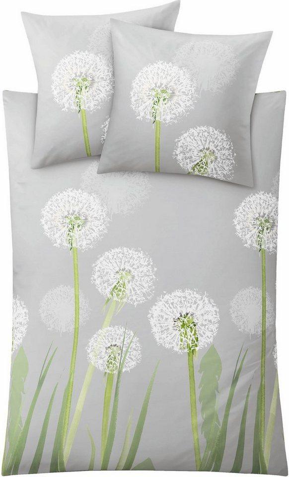 Bettwäsche »Belfiore«, Kleine Wolke, mit Pusteblumen online kaufen ...