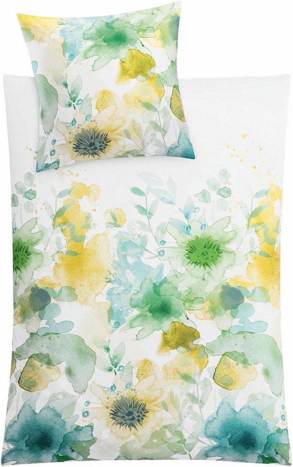 bettw sche flores kleine wolke mit getupften blumen online kaufen otto. Black Bedroom Furniture Sets. Home Design Ideas