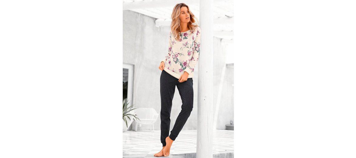 Günstig Kaufen Am Besten Buffalo Pyjama mit Blumenprint in L-Größen Billig Verkauf Zahlen Mit Paypal Outlet Große Überraschung hQSVYc6q