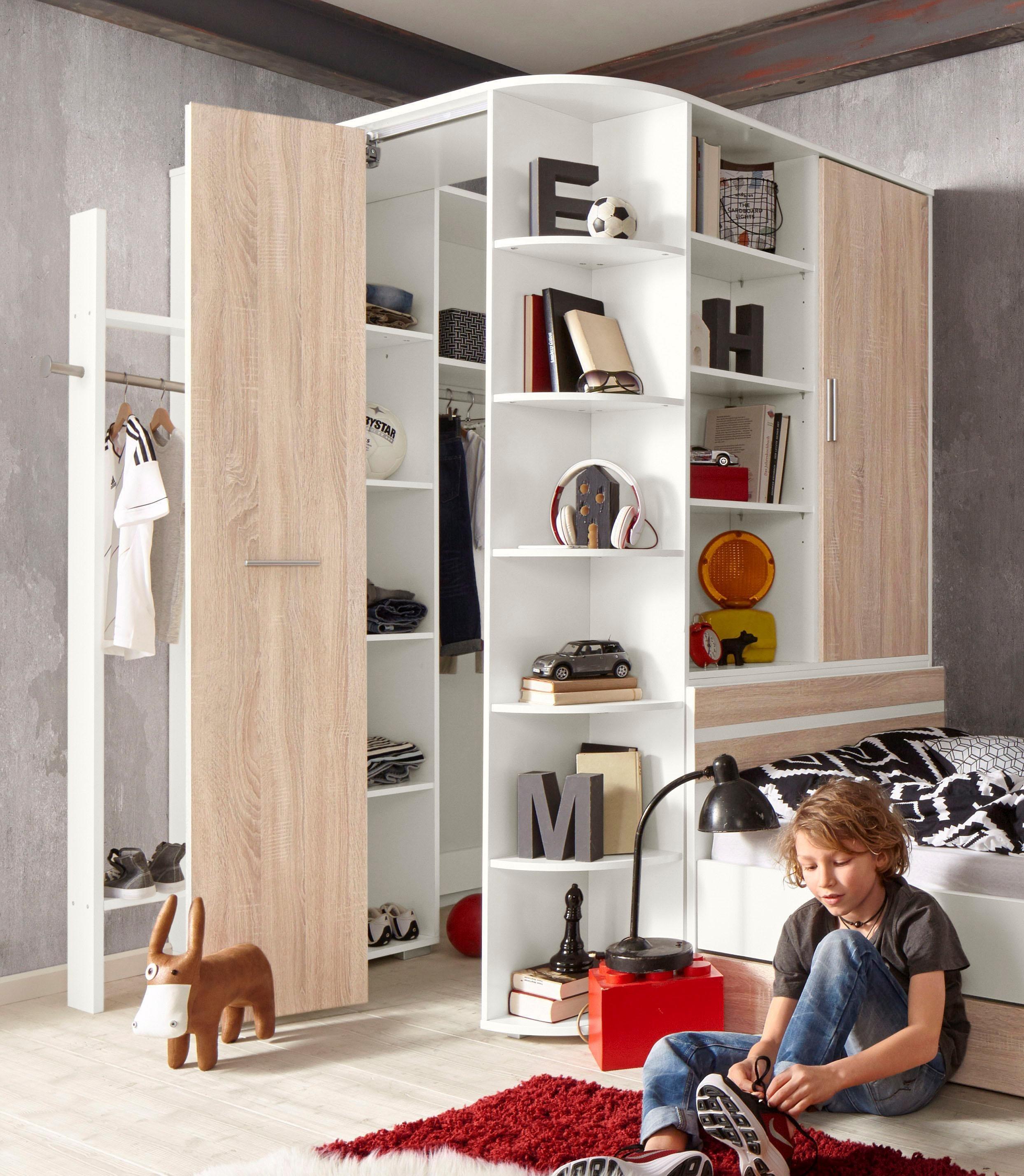 eckkleiderschrank preisvergleich die besten angebote online kaufen. Black Bedroom Furniture Sets. Home Design Ideas