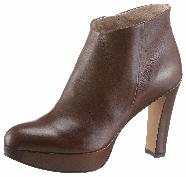 GUIDO MARIA KRETSCHMER High-Heel-Stiefelette, mit elegantem Plateau online kaufen  dunkelbraun