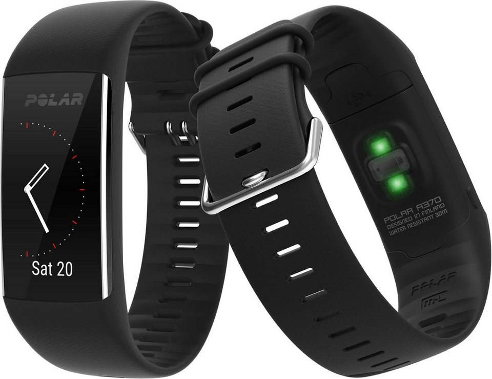 polar fitness tracker schwarz a370 kaufen otto. Black Bedroom Furniture Sets. Home Design Ideas