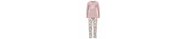 Skiny Pyjama Fading Sun mit geblümter Hose Billig Verkauf Erkunden Günstig Kaufen Shop FULaB8eCcw